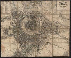 Neuester Plan von Wien und seinen Vorstädten