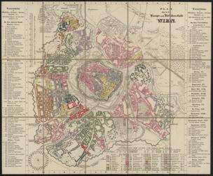 Plan der k.k. Haupt- und Residenzstadt Wien