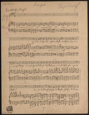 Liebesglück / Hugo Wolf von Joseph von Eichendorff