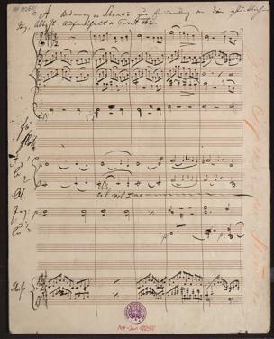 Widmung : Lied ; op. 25, Nr. 1, für Orchester / von Robert Schumann. gesetzt von Johann Strauss von Johann Strauss