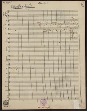 Ouverture / [von Johann Strauss] von Johann Strauss