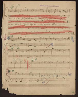 Skizzen / [von Johann Strauss] von Johann Strauss