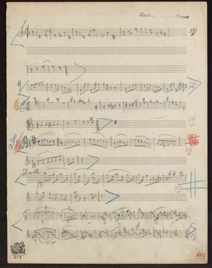 Skizzen / von Johann Strauß von Johann Strauss