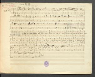 Unverhofft : Posse mit Gesang in 3 Akten / [Musik von Adolf Müller. Von Joh. Nestroy] von Adolf Müller