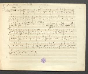 Das Gewürzkrämer Kleeblatt : Posse / [Musik von Adolf Müller. Von J. Nestroy] von Adolf Müller