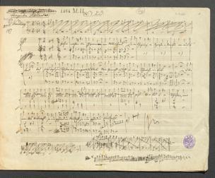 fliegende Holländer zu Fuße : Posse in 2 Akten / Musik von Adolf Müller. Von Joh. Nestroy von Adolf Müller