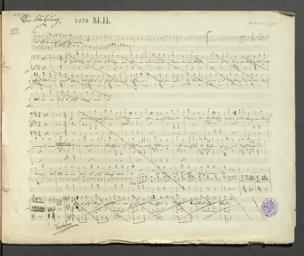 Schützling : Posse in 4 Akten / [Musik von Adolf Müller. Von Johann Nestroy] von Adolf Müller