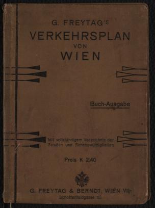 Verkehrsplan der k.k. Reichshaupt- und Residenzstadt Wien