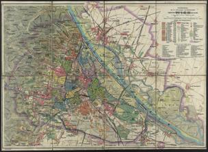 Schulhandplan der k. k. Reichshaupt- und Residenzstadt Wien : Mit Erlaß des ... Landeschulrates ... 1908