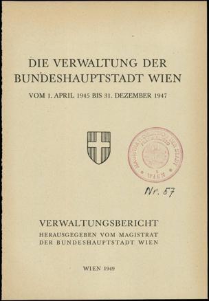 Verwaltungsbericht