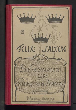 Gedenktafel der Prinzessin Anna von Salten, Felix ()