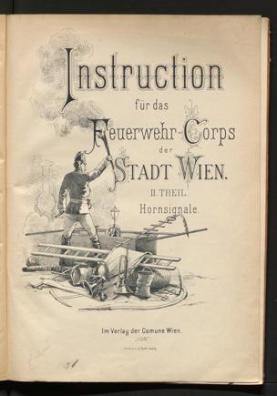 Instruktion Feuerwehr-Korps