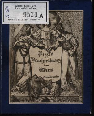 Johann Pezzl's Neueste Beschreibung von Wien von Pezzl, Johann ()