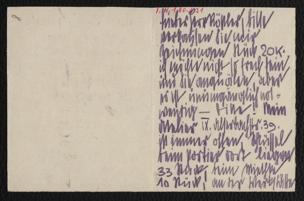 Brief an Arthur Roessler von Schiele, Egon