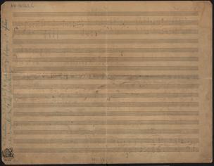 Vaterland : [Ein Hymnus für Männer-Chor und großes Orchester] von Wolf, Hugo
