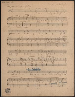 [Komm, o Tod] : [Spanisches Liederbuch, Nr. 24] von Wolf, Hugo